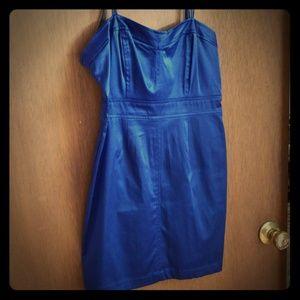 Blue minidress